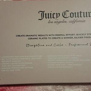 Juicy Couture Hair Ceramic Plated Straightener Poshmark